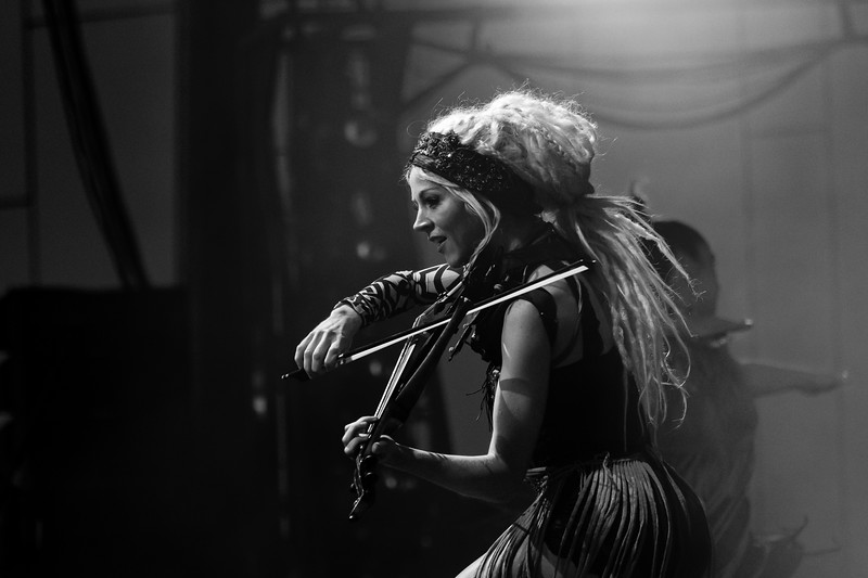Lindsey Stirling at the TCU Amphitheater at White River State Park Indianapolis, IN August 11, 2021. Photo by Tony Vasquez