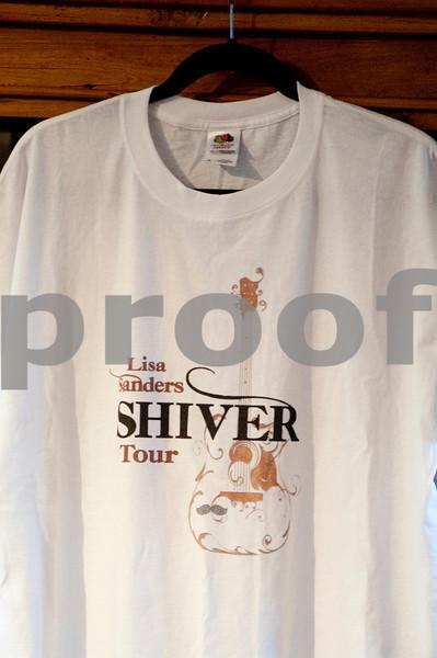 Lisa Sanders SHIVER tour T-Shirt