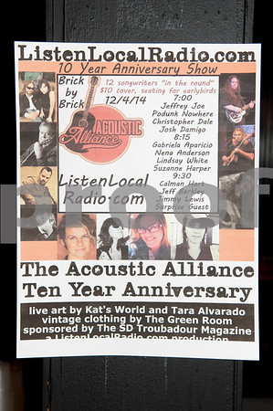 Acoustic Alliance 10th Anniversary show