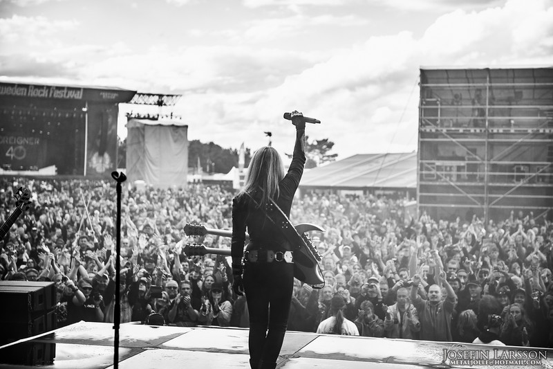 Lita Ford - Sweden Rock 2016