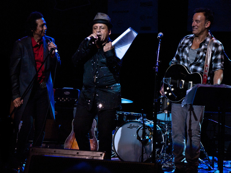 """Alejandro Escovedo, Garland Jeffreys and Bruce Springsteen<br /> Wednesday, March 14, 2012<br /> Austin Music Awards at Austin Music Hall<br /> SXSW Music Festival - 2012, Austin, Texas<br /> Photos by Sean Murphy ©2012.<br /> Please do not use without permission.<br /> You can find more Alejandro at: <a href=""""http://alejandroescovedo.com/"""">http://alejandroescovedo.com/</a>"""