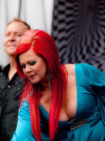 Kate Pierson and Fred Schneider of The B-52s<br /> AMD (West) Stage<br /> Sunday, October 04, 2009, 2:00 - 3:00 PM<br /> Photos Courtesy of Sean Murphy © 2009