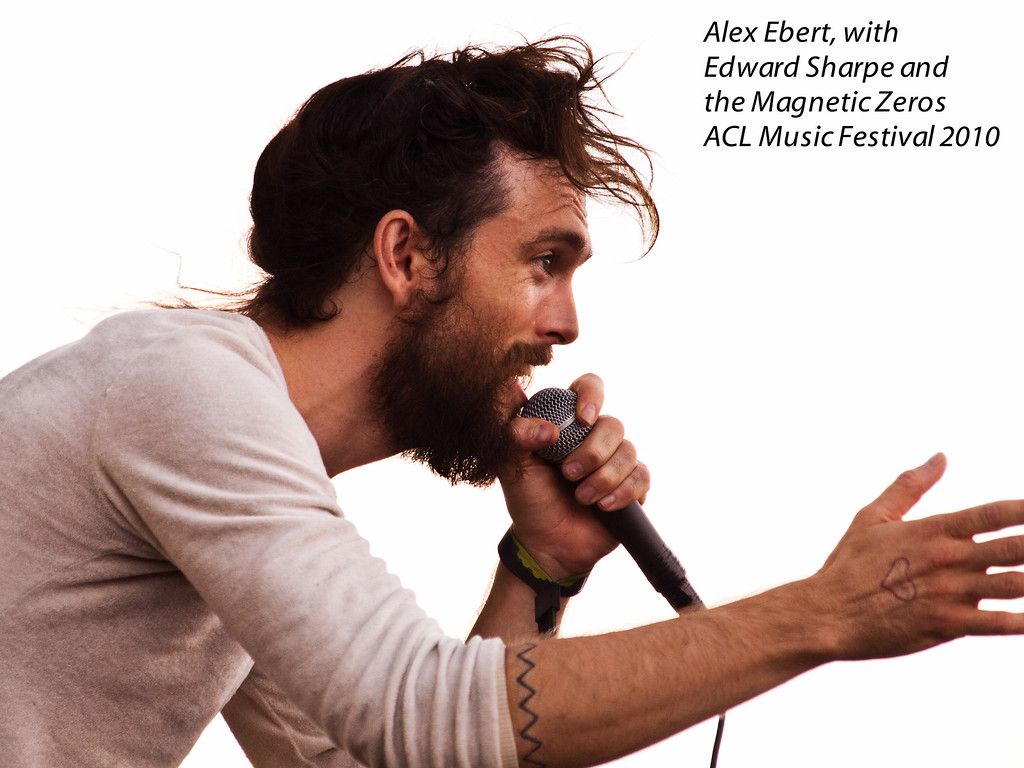 "Alex Ebert engages the crowd<br /> Lead singer with Edward Sharpe and the Magnetic Zeros<br /> ACL Music Festival 2010<br /> 10 October 2010 (10/10/10)<br /> Photo © Sean Murphy 2010<br />  <a href=""http://www.murphotos.com"">http://www.murphotos.com</a><br /> Please do not reuse without permission"