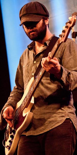 Alex Maas, Black Angels bassist, SXSW 2011.