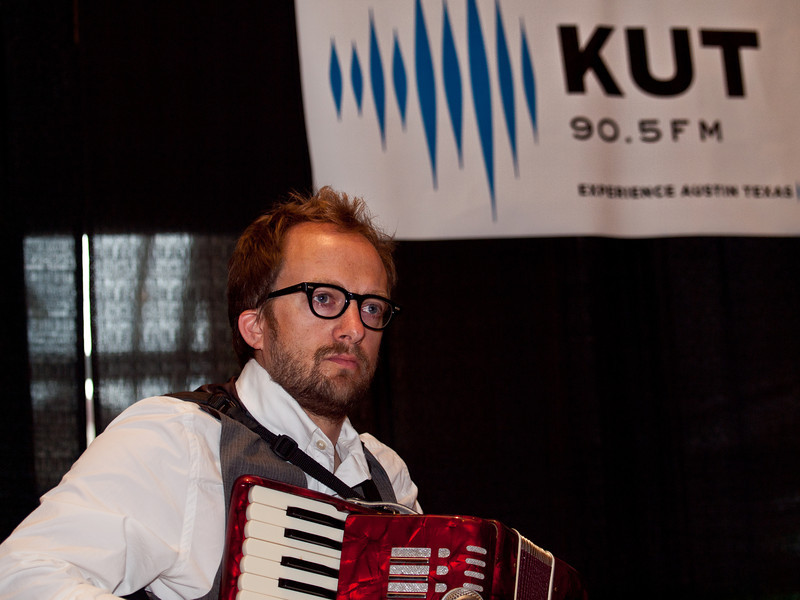 Jared Hall, accordian.