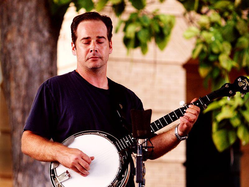 James Dinkins - Banjo, Cooper's Uncle, Old Time Fiddlin' Fair, Georgetown, Texas, 25Sept04