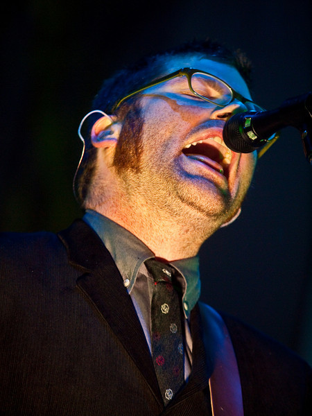 THE DECEMBERISTS<br /> Austin City Limits Music Festival 2009<br /> Dell Stage<br /> Saturday, October 03, 2009, 7:00 - 8:00 PM<br /> Colin Meloy<br /> Photos Courtesy of Sean Murphy © 2009