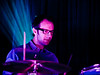 David Hobizal, drums.