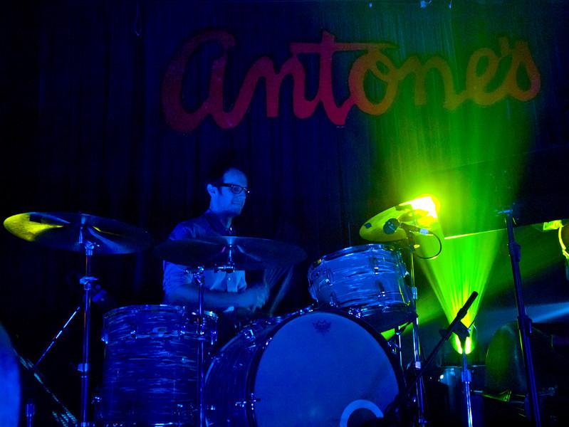 David Hobizal, drums.