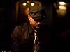 "Eddy Hobizal, playing cut off ""Kinetic"", his new CD."