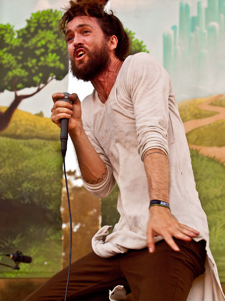 Alex Ebert<br /> Edward Sharpe and the Magnetic Zeros<br /> Zync Card Stage<br /> Austin City Limits Music Festial 2010<br /> Sunday, October 10, 2010 (that's 10/10/10)<br /> Photo by Sean Murphy ©2010.<br /> Please do not reproduce without permission.