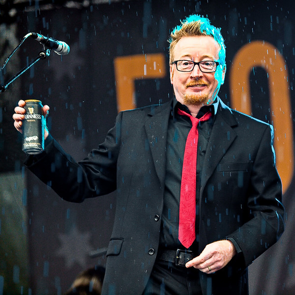 "Frontman Dave King kicks things off with a nip of Irish brew.<br /> <br /> FLOGGING MOLLY <br /> AMD (West) Stage<br /> Saturday, October 03, 2009, 4:00 - 5:00 PM<br /> <br />  <a href=""http://www.floggingmolly.com/"">http://www.floggingmolly.com/</a>"