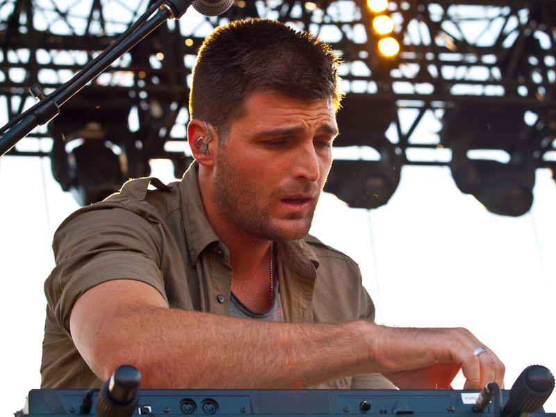 Cubbie Fink<br /> Foster the People<br /> Google+ Stage<br /> Austin City Limits Music Festival<br /> Friday Sept 16 5:30 PM<br /> Photos © Sean Murphy 2011<br /> Please do not reproduce without permission.