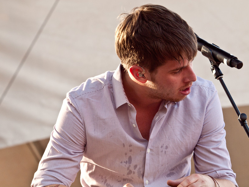 Mark Foster<br /> Foster the People<br /> Google+ Stage<br /> Austin City Limits Music Festival<br /> Friday Sept 16 5:30 PM<br /> Photos © Sean Murphy 2011<br /> Please do not reproduce without permission.