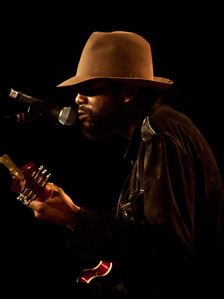 Gary Clark Jr.<br /> Radio Day Stage <br /> Austin Convention Center<br /> Friday, March 16 at 12: 00PM <br /> SXSW 2012, Austin, Texas<br /> Photos by Sean Murphy © 2012.<br /> Please do not reproduce without permission.