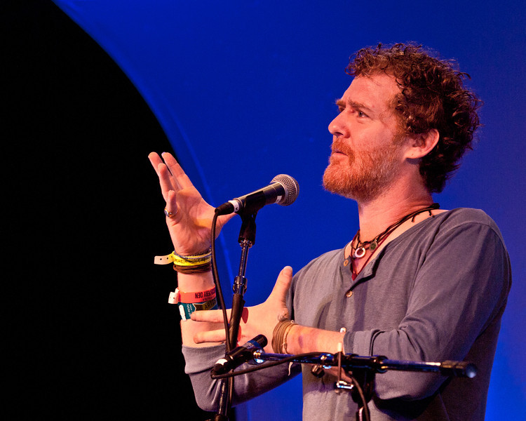 Glen Hansard<br /> Saturday morning (way too early), March 17, 2012<br /> Four Seasons Hotel, Austin, Texas<br /> Captured live at the KUT SXSW Showcase<br /> Image of Glen captured by Sean Murphy ©2012.<br /> Please do not reproduce without permission from the artist.