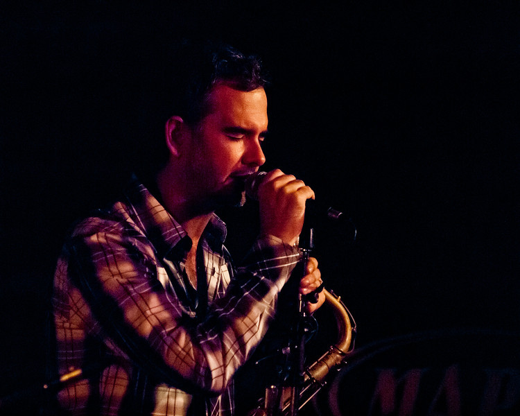Elias Haslanger Tenor Saxophonist at the Elephant Room 315 Congress Avenue Austin, Texas Friday, March 16, 2012