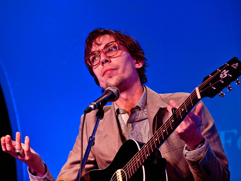 Justin Townes Earle<br /> KUT Live at the Four Seasons Hotel<br /> Saturday, March 17, 2012 (St. Patrick's Day)<br /> Photos courtesy Sean Murphy © 2012.<br /> Please do not reproduce without permission.