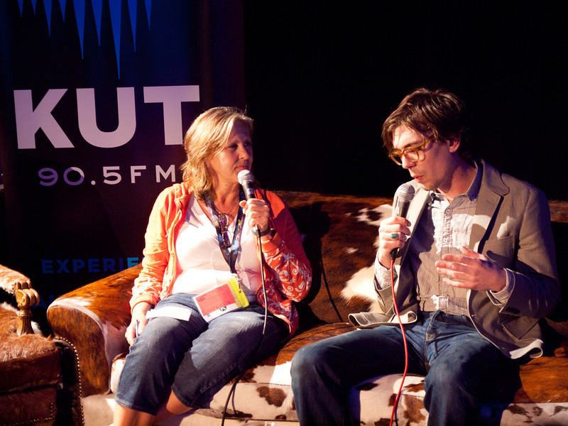 Susan Castle interviews Justin Townes Earle <br /> KUT Live at the Four Seasons Hotel<br /> Saturday, March 17, 2012 (St. Patrick's Day)<br /> Photos courtesy Sean Murphy © 2012.<br /> Please do not reproduce without permission.