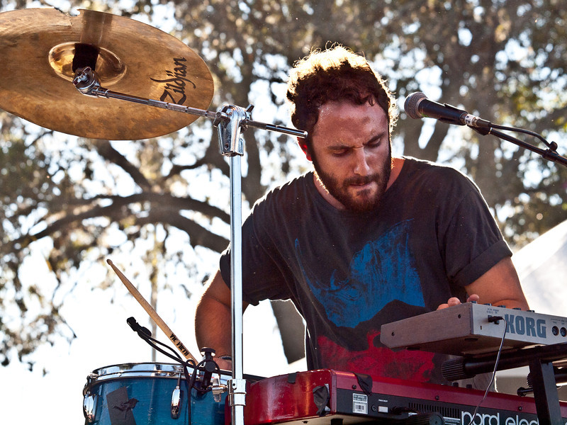 Local Natives<br /> Kelcey Ayer, Keyboards<br /> Austin Ventures Stage<br /> Saturday, October 9, 2010<br /> Austin City Limits Music Festival<br /> Photos by Sean Murphy © 2010.<br /> Please do not use without permission.