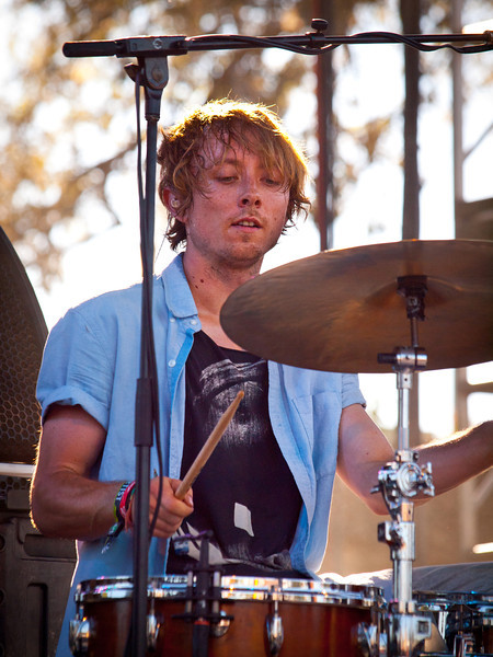 Local Natives<br /> Matt Frazier, drums<br /> Austin Ventures Stage<br /> Saturday, October 9, 2010<br /> Austin City Limits Music Festival<br /> Photos by Sean Murphy © 2010.<br /> Please do not use without permission.