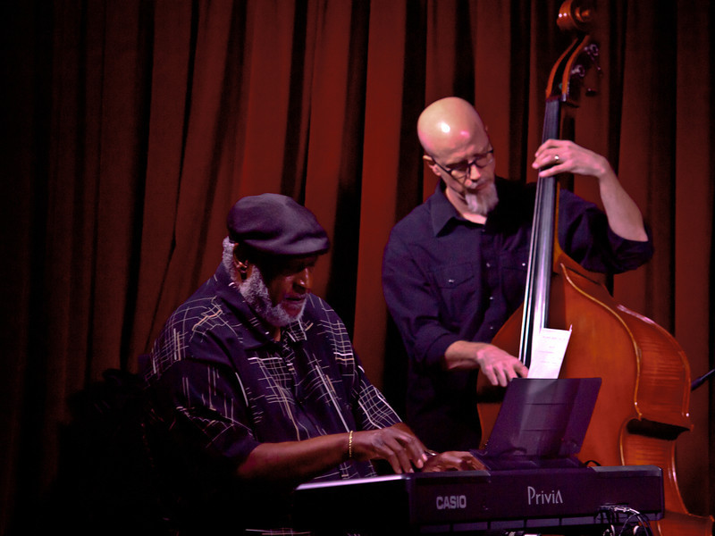 Jeff Lofton Quartet,<br /> Dr. James Polk on keys and Ed Friedland on bass.<br /> At the Cactus Cafe, University of Texas at Austin.<br /> Celebrating Jazz Appreciation Month & 5 years in Austin.<br /> Saturday, April 7, 8:30pm<br /> Images courtesy Sean Murphy © 2012.<br /> Please do not reproduce without permission.