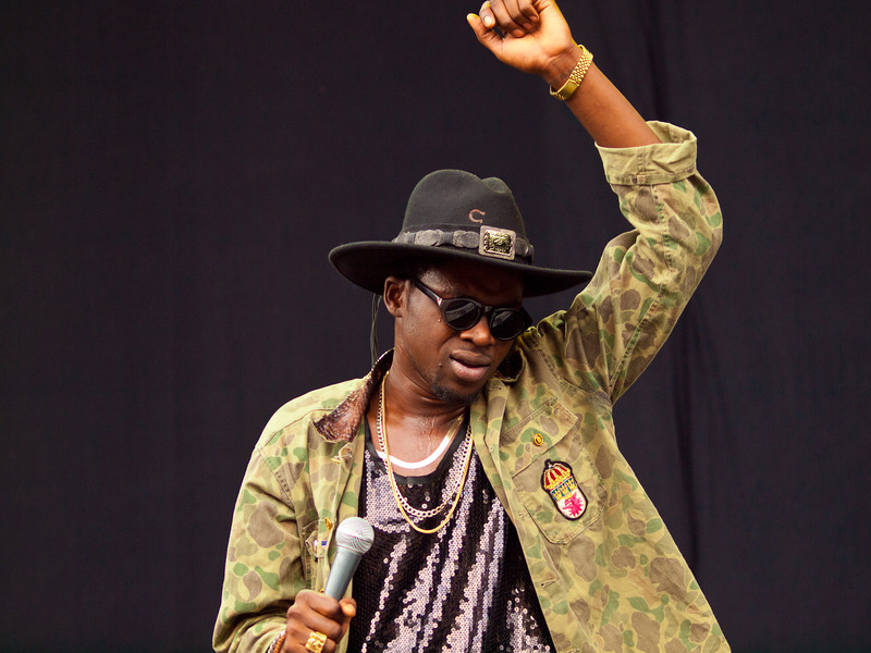 Theophilus London<br /> performing on the Bud Light Stage<br /> Austin City Limits Music Festival<br /> 12:30pm, Friday, September 16, 2011<br /> Photo © Sean Murphy 2011<br /> Please do not reproduce without permission.