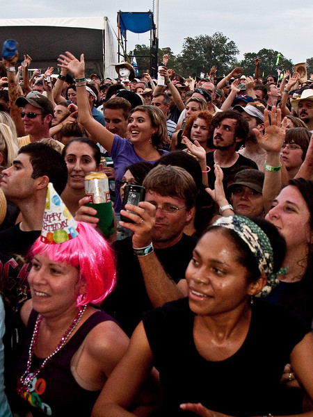 The Crowd<br /> at the Austin City Limits Music Festival 2009<br />  Dell Stage, 7:00 - 8:00 PM, Sunday, October 4, 2009 <br /> Photos Courtesy of Sean Murphy © 2009