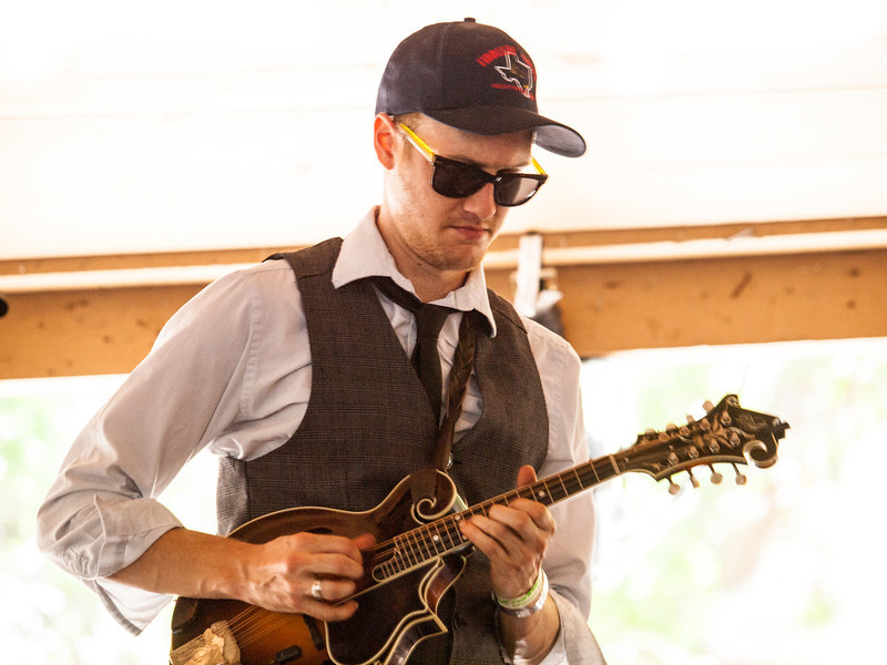 MilkDrive<br /> Dennis Ludiker – Mandolin, harmony vocals<br /> Campground Stage<br /> Camp Ben McCullough<br /> Old Settler's Music Festival<br /> Sunday, April 21, 2013<br /> Please do not reproduce without permission.<br /> Photos © Sean Murphy 2013.