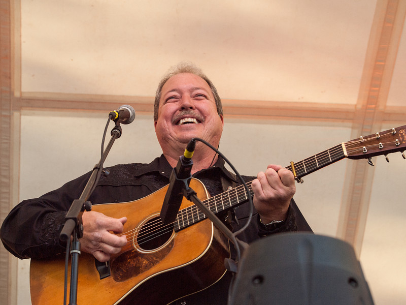 "Russell Moore<br /> International Bluegrass Music Association's (IBMA) 5-time ""Male Vocalist Of The Year""<br /> playing with the bluegrass band, IIIrd Tyme Out<br /> on the Bluebonnet Stage<br /> at The Old Settler's Music Festival<br /> Driftwood, Texas<br /> Saturday, April 20, 2013<br /> Please do not reproduce without permission.<br /> Sean Murphy © 2013."