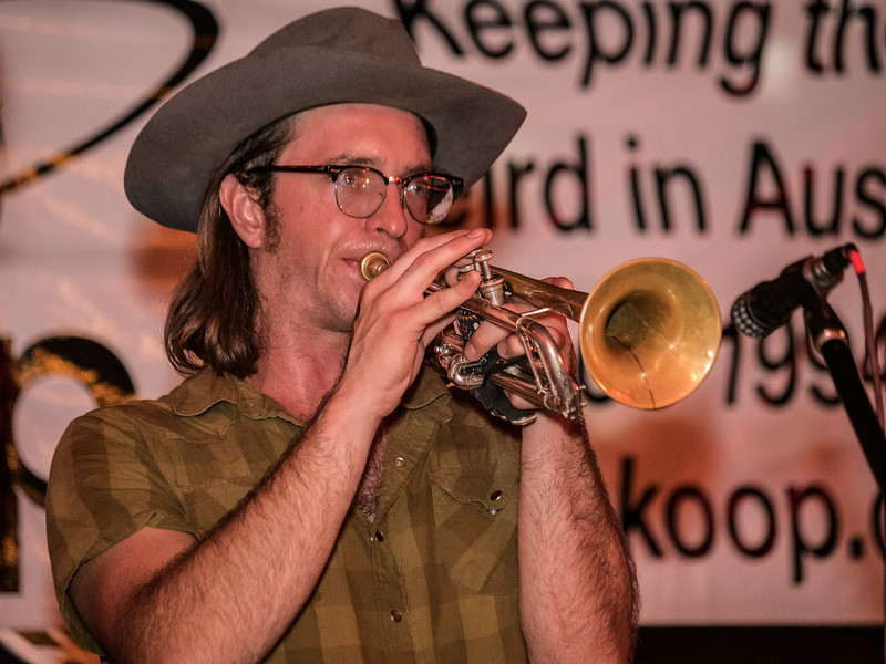 Trumpet player with Nic Armstrong & The Thieves