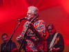 "Peter Rowan<br /> guitar and vocals<br /> with his band ""Twang an' Groove""<br /> on the Bluebonnet Stage<br /> at Old Settler's Music Festival<br /> on Saturday, April 20, 2013, 9:20pm - 10:20pm<br /> (what an experience . . .)<br /> Please do not copy or reproduce without permission from the photographer.<br /> Sean Murphy © 2013."