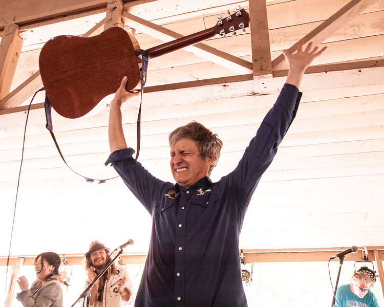 Steve Poltz, finale!<br /> on the Campground Stage<br /> at The Old Settler's Music Festival<br /> in Dripping Springs, Texas<br /> on Sunday, April 21, 2013<br /> Please do not reproduce without permission.<br /> Sean Murphy © 2013.