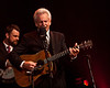 Del McCoury, backed up by his son Rob on banjo.  © Sean Murphy