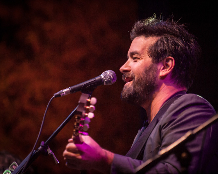 Bob Schneider<br /> with his exemplary Austin bluegrass band<br /> on the Bluebonnet Stage<br /> Saturday, April 20, 2013<br /> at The Old Settler's Music Festival<br /> Driftwood, Texas<br /> Please do not reproduce without permission.<br /> Sean Murphy © 2013.