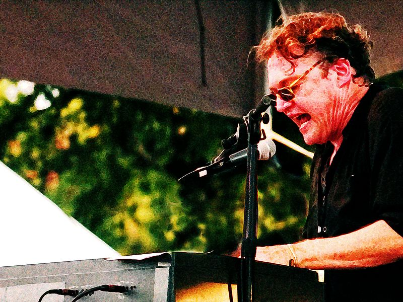 Terry Allen (keyboards), modified 1.<br /> Austin City Limits Music Festival 2004<br /> Photo by Sean Murphy © 2004.<br /> Please  do not reproduce without permission.