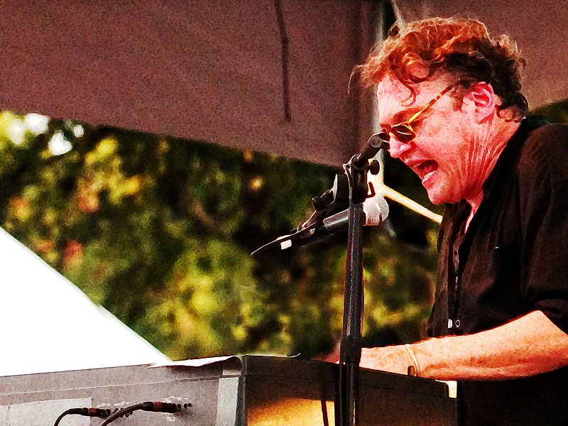 Terry Allen (keyboards), modified 2.<br /> Austin City Limits Music Festival 2004<br /> Photo by Sean Murphy © 2004.<br /> Please  do not reproduce without permission.