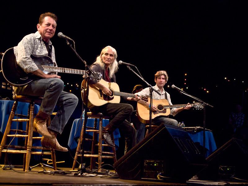 The Flatlanders<br /> Joe Ely, Jimmie Dale Gilmore & Colin Gilmore<br /> at KUT Live with Jody Denberg<br /> KLRU's original ACL Studio, 6A<br /> April 29, 2011