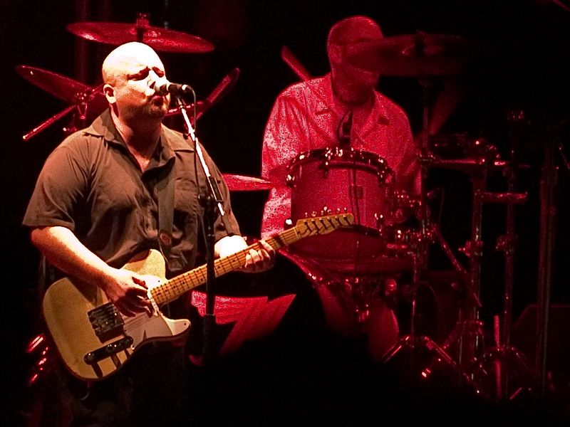 The Pixies at the Austin City Limits Festival, Saturday, 18 September 2004. Frank black and Dave Lovering.
