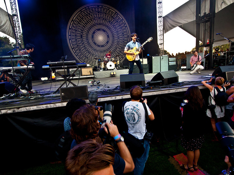Vampire Weekend<br /> Zync Card Stage<br /> Austin City Limits Music Festival<br /> Friday, October 8, 2010<br /> Photos by Sean Murphy © 2010.  Please do not reproduce without permission.