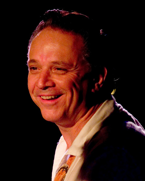 Jimmie Vaughan <br /> with Omar Kent Dykes On The Jimmy Reed Highway<br /> Blues on the Green, Austin, Texas<br /> 8 August 2007<br /> Photo © Sean Murphy 2007, please do not reproduce without permission.