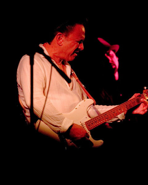 Jimmie Vaughan with Ronnie James Weber (upright bass)<br /> On The Jimmy Reed Highway with Omar Kent Dykes<br /> Blues on the Green, Austin, Texas<br /> 8 August 2007<br /> Photo © Sean Murphy 2007, please do not reproduce without permission.