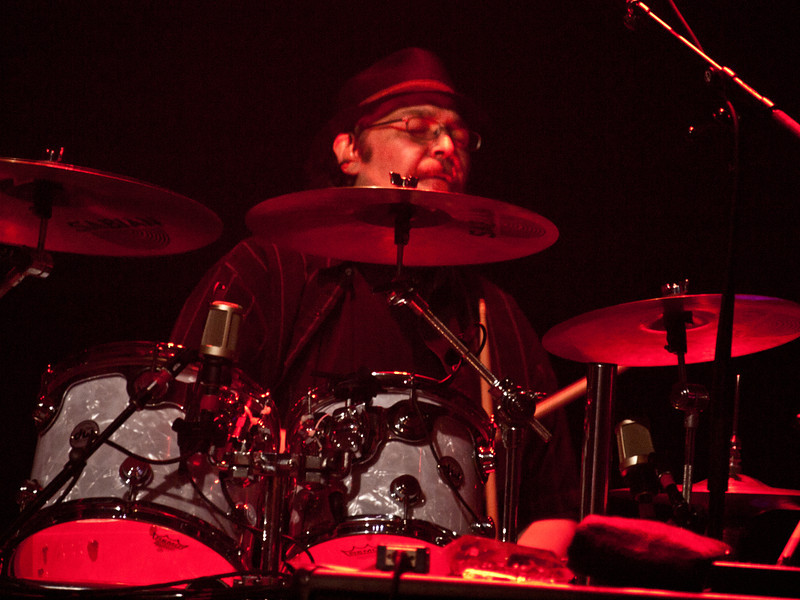 Widespread Panic drummer Todd Nance.  Captured at Moody Theatre on March 17, 2011 by Sean Murphy ©2011.  Please do not reproduce without permission of the photographer.