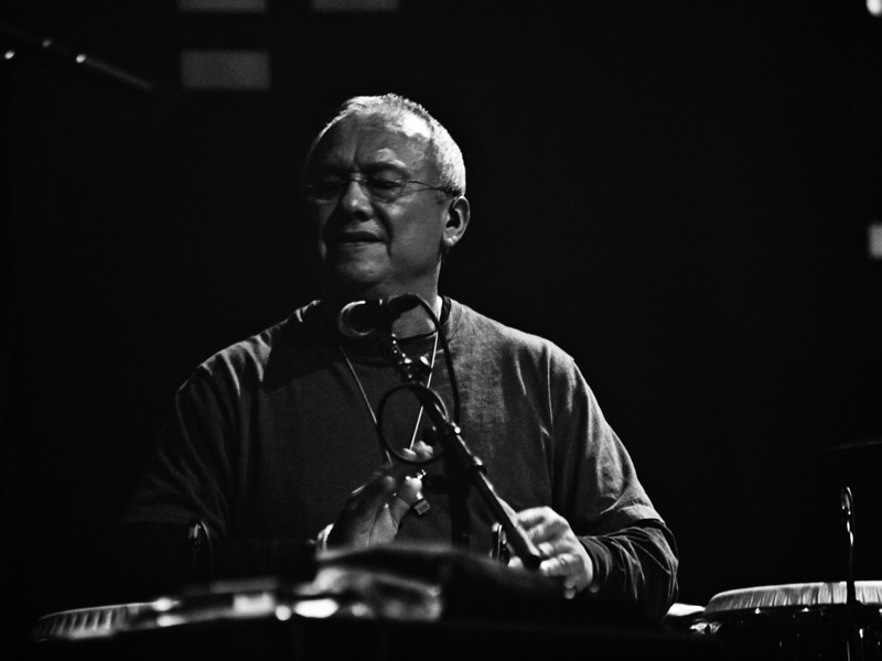 """Widespread Panic percussionist Domingo """"Sunny"""" Ortiz. Captured at Moody Theatre on March 17, 2011 by Sean Murphy ©2011.  Please do not reproduce without permission of the photographer."""