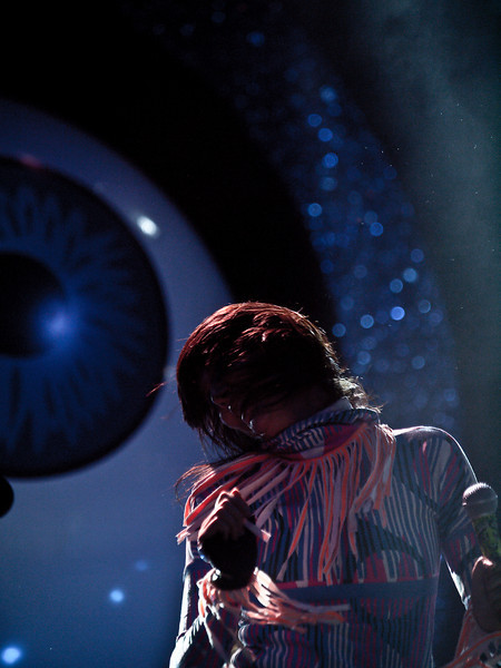 Karen O of the YEAH YEAH YEAHS <br /> AMD (West) Stage<br /> Friday, October 02, 2009 <br /> 08:30 - 09:45PM<br /> Austin City Limits Music Festival 2009