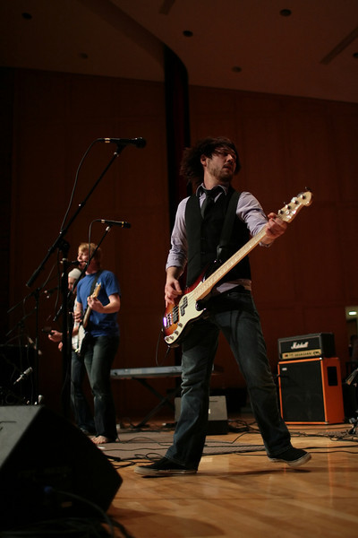 Live on the Lawn, 2008. <br /> PHOTO BY ALEX TURCO