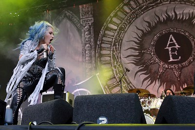 Arch Enemy @ Into The Grave - 2017