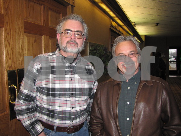Herb Dressler and Greg Hammen attended the Lizard Creek Blues event at the Best Western Starlite.