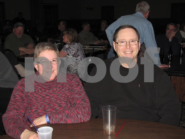 Linda and Dave Hearn at the Lizard Creek Blues event.