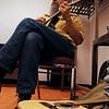 Jon Mosey and his cavaquinha (sp?)